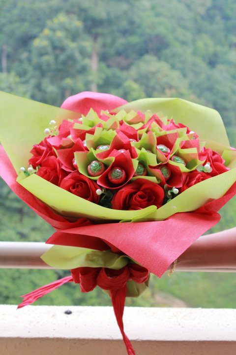 Levina\'s Kitchen: Chocolate Bouquet