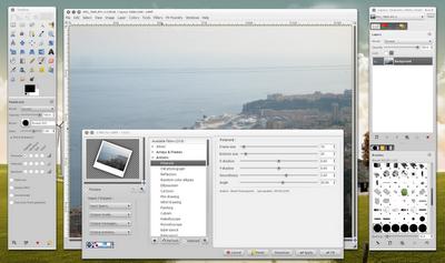 G'MIC Pour GIMP: Ubuntu PPA