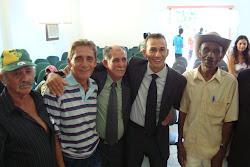 Ex-prefeito Lidio dias e amigos