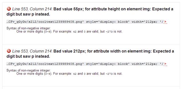 Khắc phục ảnh logo không đạt chuẩn HTML5
