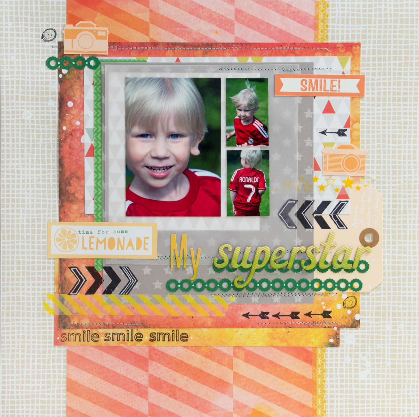 Layout for Creative Scrappers sketch #278