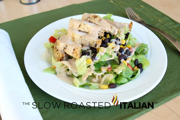 ... Printable Recipes: Simple Southwestern Chicken Salad with Spicy Ranch