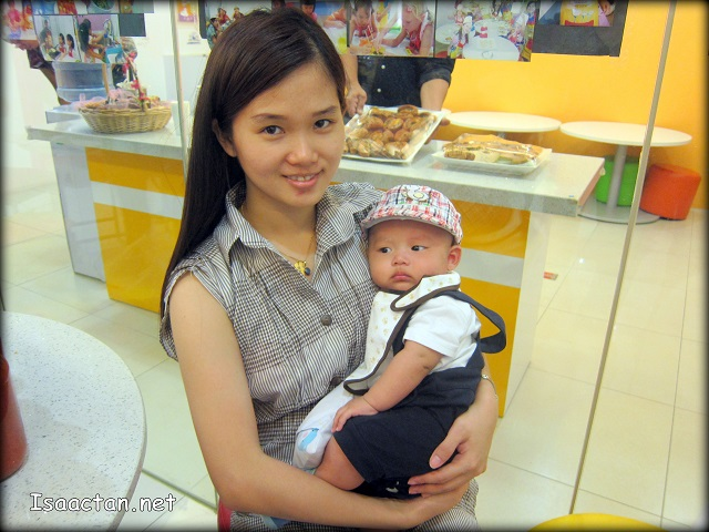 Janice and Baby Martin at the event