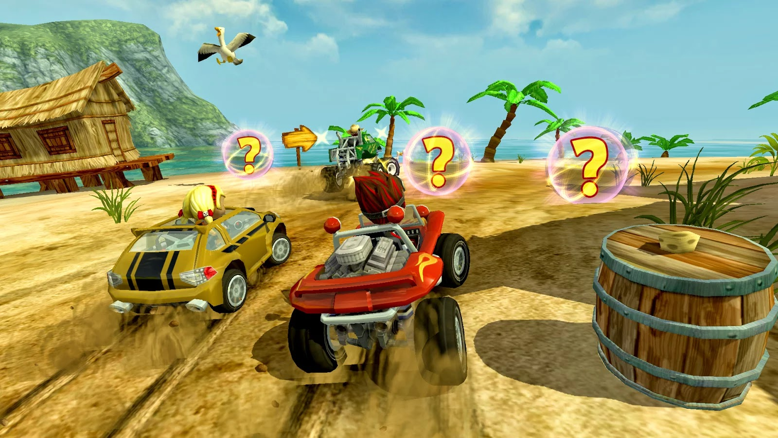 Beach Buggy Racing v1.0.1 [Premium & Unlimited Money]