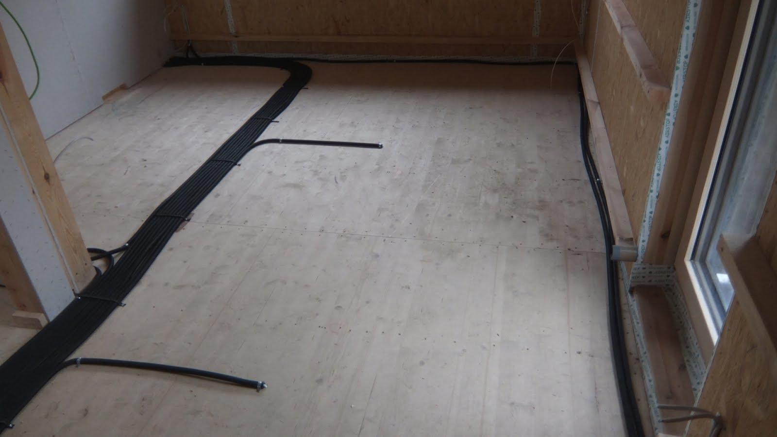 AuA\'s Baublog: Elektro-Verkabelung (Hohlwandinstallation) fertiggestellt