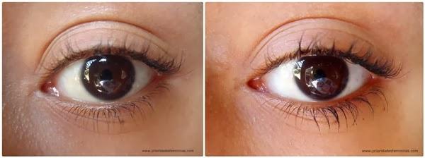 olho com rímel importado