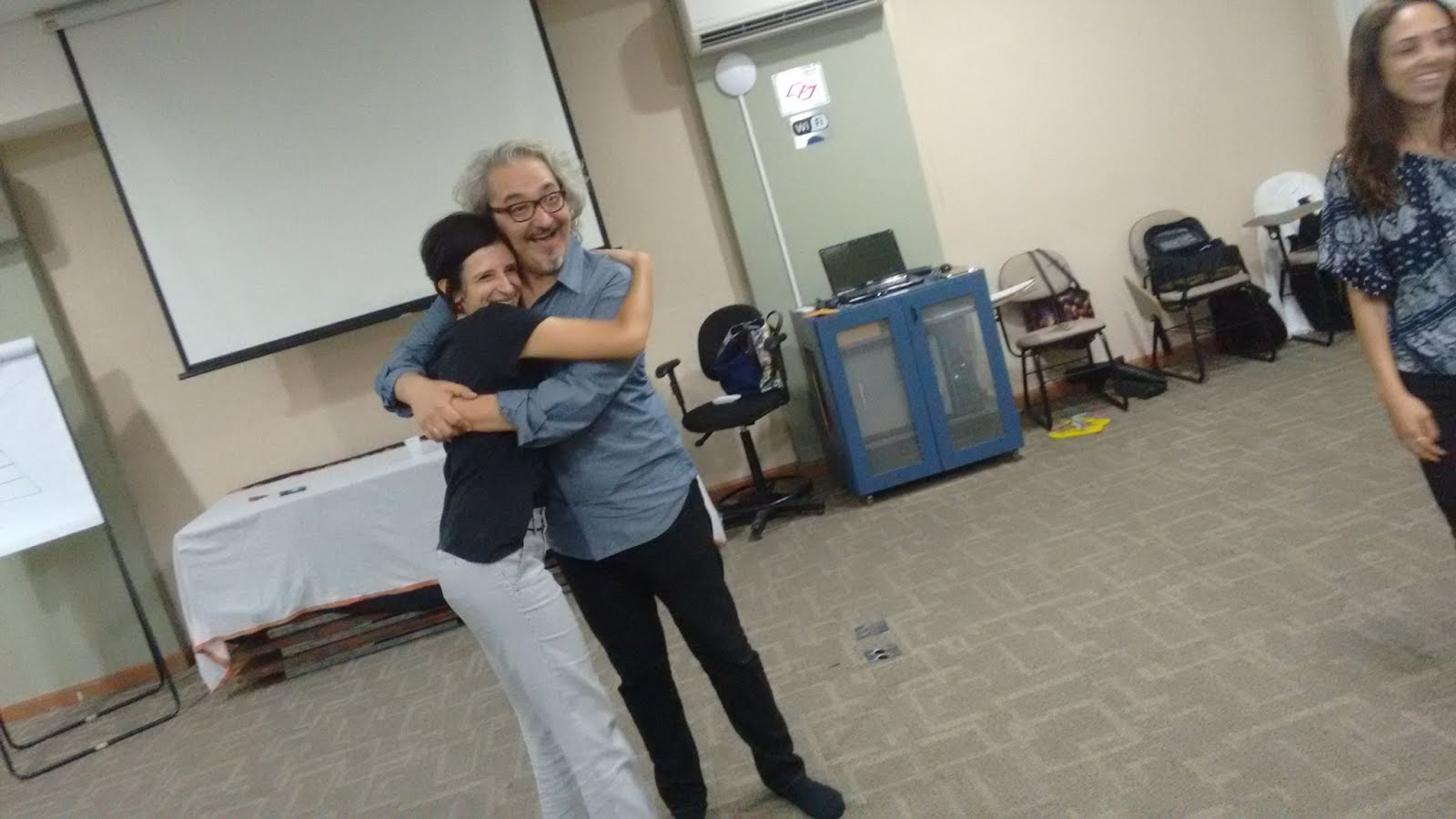 Fernanda Di Lione e Wellington Nogueira