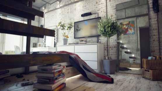 desain interior rumah, ruangan nyaman, ide desain rumah