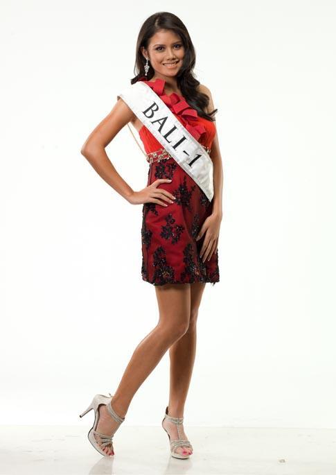 Daftar Pemenang Miss Indonesia 2012