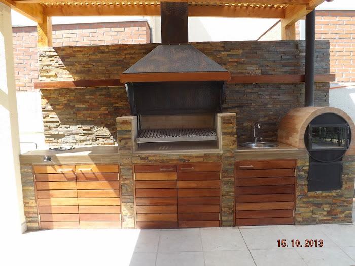 Pergolas y quinchos for Medidas de hornos pequenos