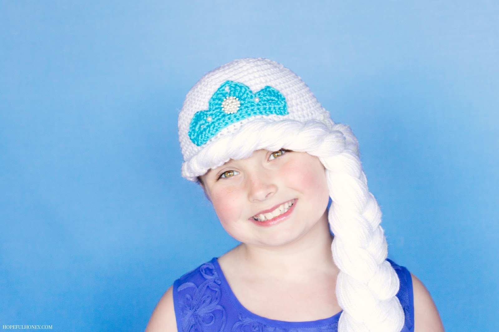Crochet Elsa Hair : ... , Crochet, Create: Frozen Princess Elsa Inspired Hat Crochet Pattern