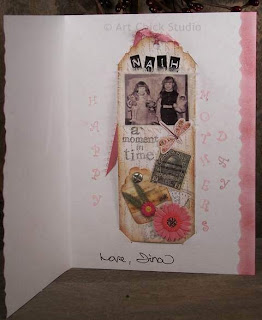 Mother's Day Card Bookmark