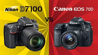 Nikon D7100 VS Canon EOS70D, new Canon EOS 70D, Nikon D7100