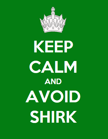 Keep Calm And Avoid Shirk