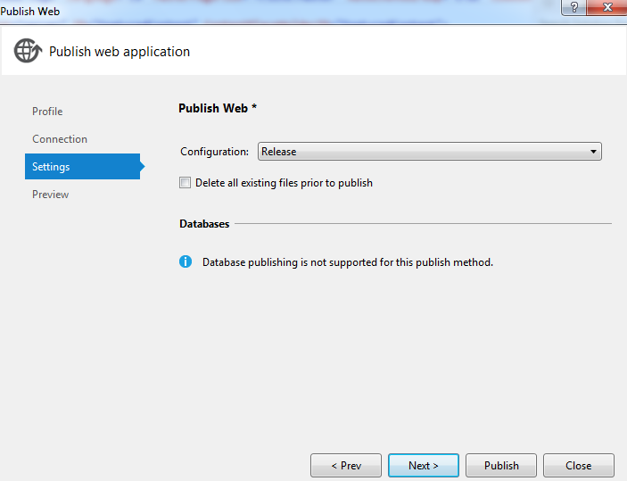 Release mode in visual studio 2012