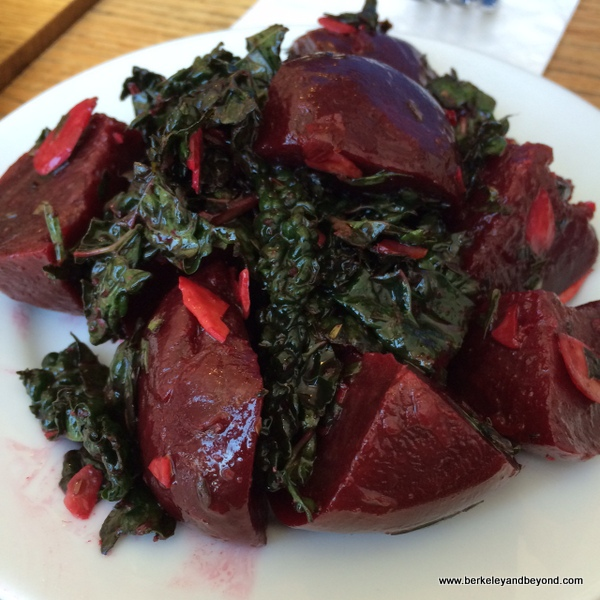 beet salad at Huckleberry Cafe in Santa Monica, California