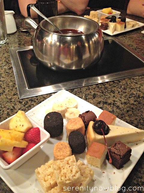 Girls' Night Out Idea: Facials and Fondue, from Serenity Now