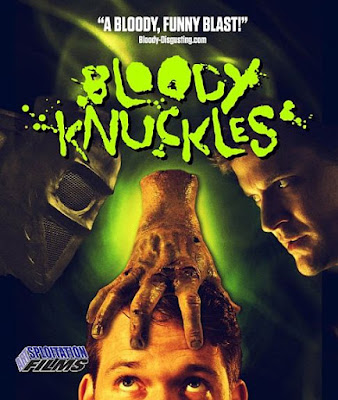 Bloody Knuckles Blu-ray cover