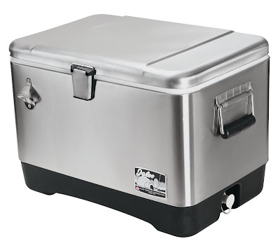 Stainless Steel Quart Cooler