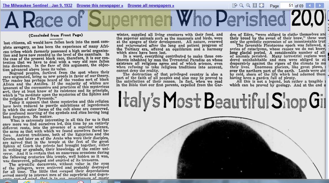 1932.01.09 - The Milwaukee Sentinel