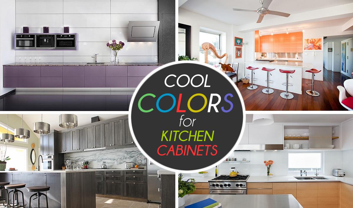 Lovely 9 Inspiration Color For Kitchen Cabinet