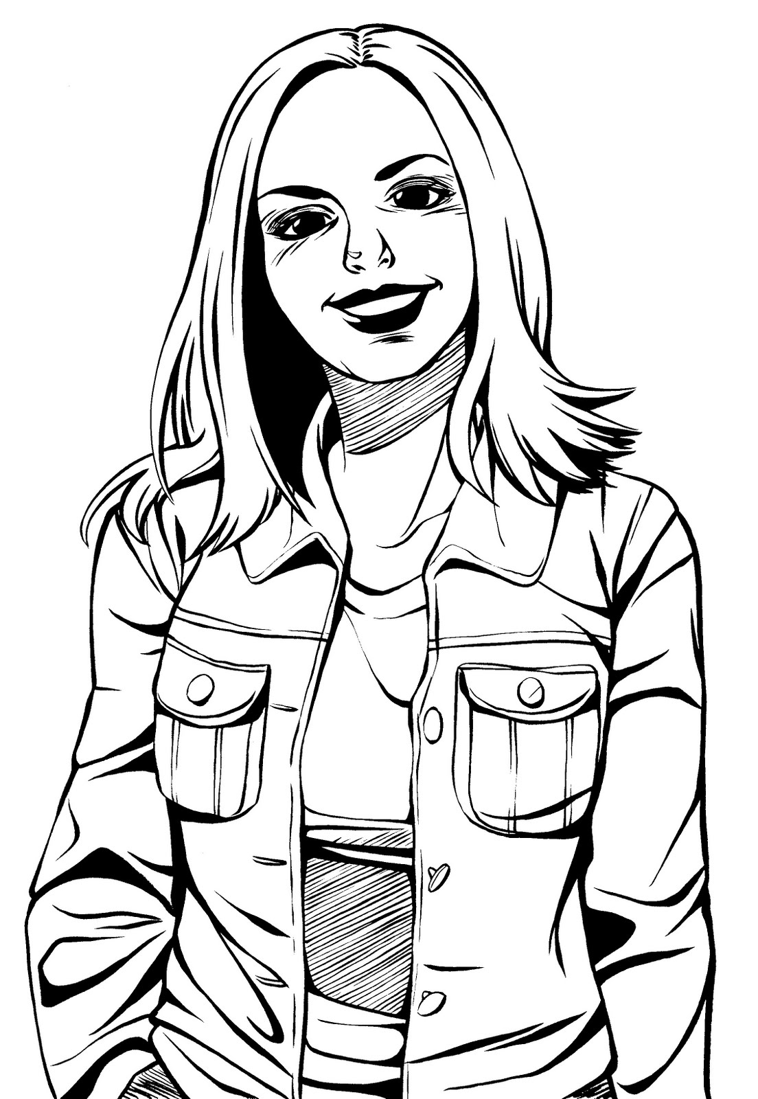 natalie coloring pages - photo#44