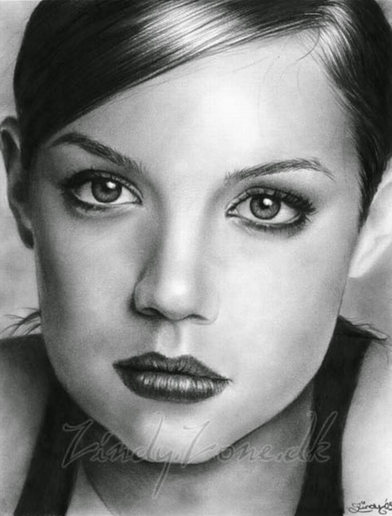 retratos-de-mujeres-pintados-con-lapiz