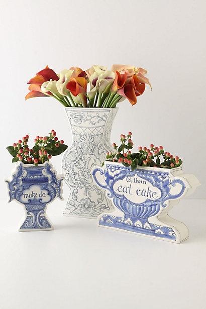 1201north Anthropologie Vase And Ginger Jar Love