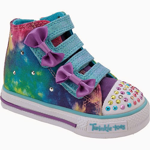 Sports authority coupon 25%: SKECHERS Toddler Girls' Twinkle Toes Semi-Sweet Light-Up Shoes