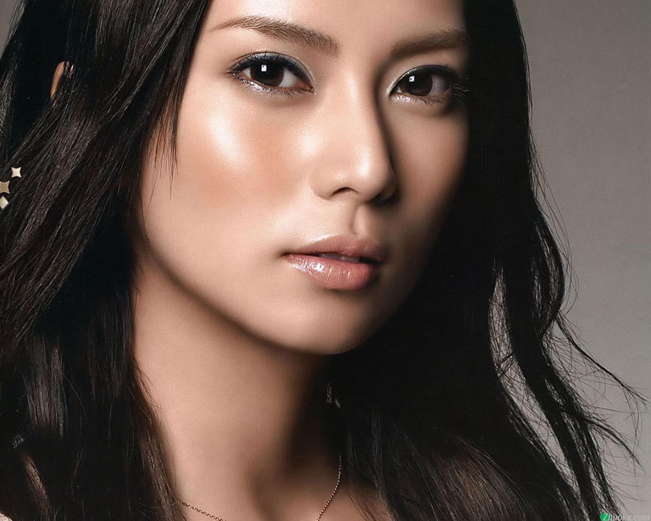 Макияж лица для азиатского типа лица фото