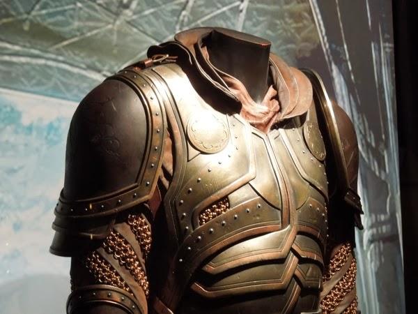 Thor Dark World Volstagg armor detail