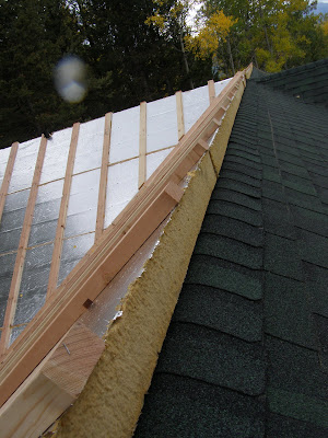 Insulated Roof Panel Retrofit - Palmer Cabin Peak