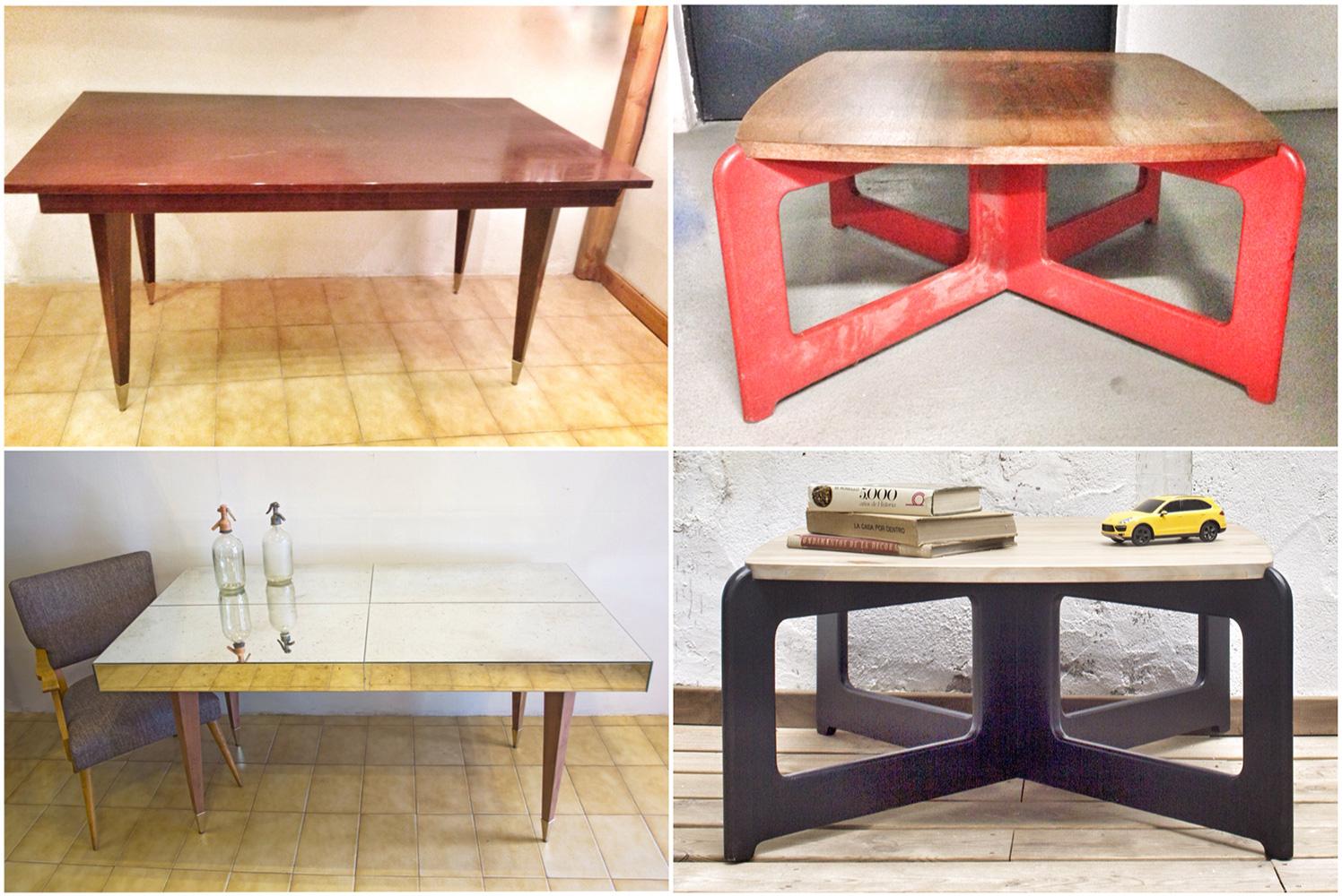 Mesas De Comedor Antiguas Restauradas. Trendy Muebles Restaurados ...