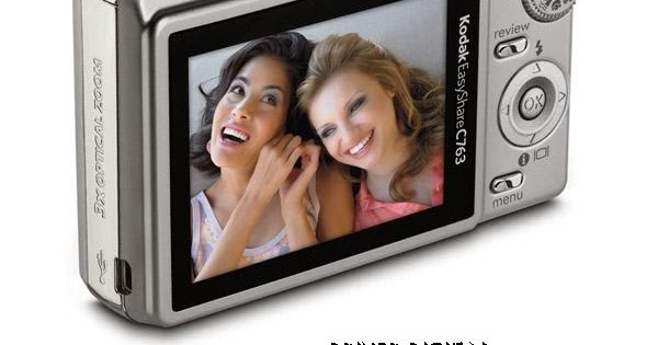 Kodak easyshare c613 silver camera and sv710 frame bundle.