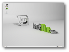 LinuxMint 13 Maya Mate desktop environment