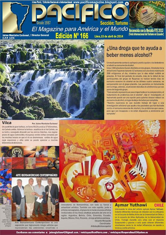 Revista Pacífico Nº 166 Turismo