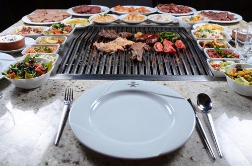 Masa ızgarası: elektrik, kömür, mangal