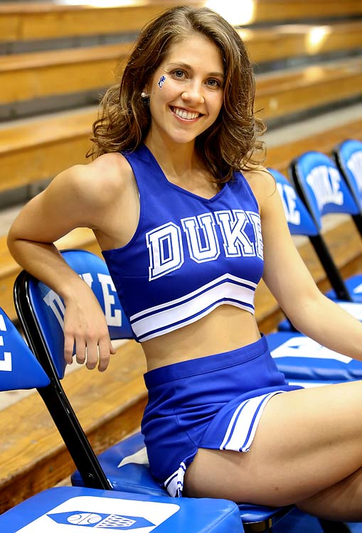 Duke Cheerleaders