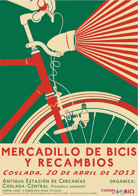 Mercadillo de Madrid Bicicletas