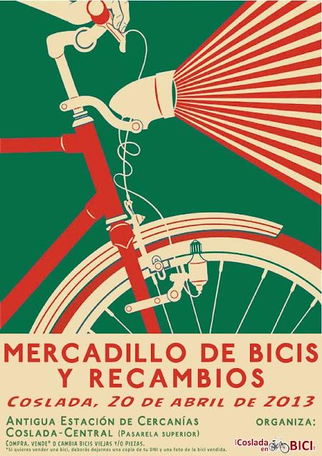 Mercadillo de Madrid Bicicletas