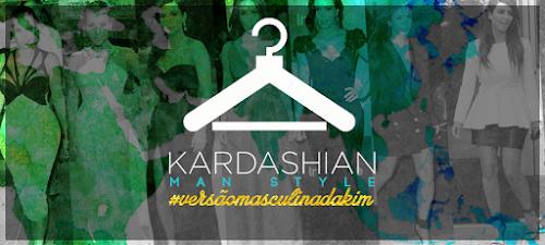 Look Kim Kardashian para homens