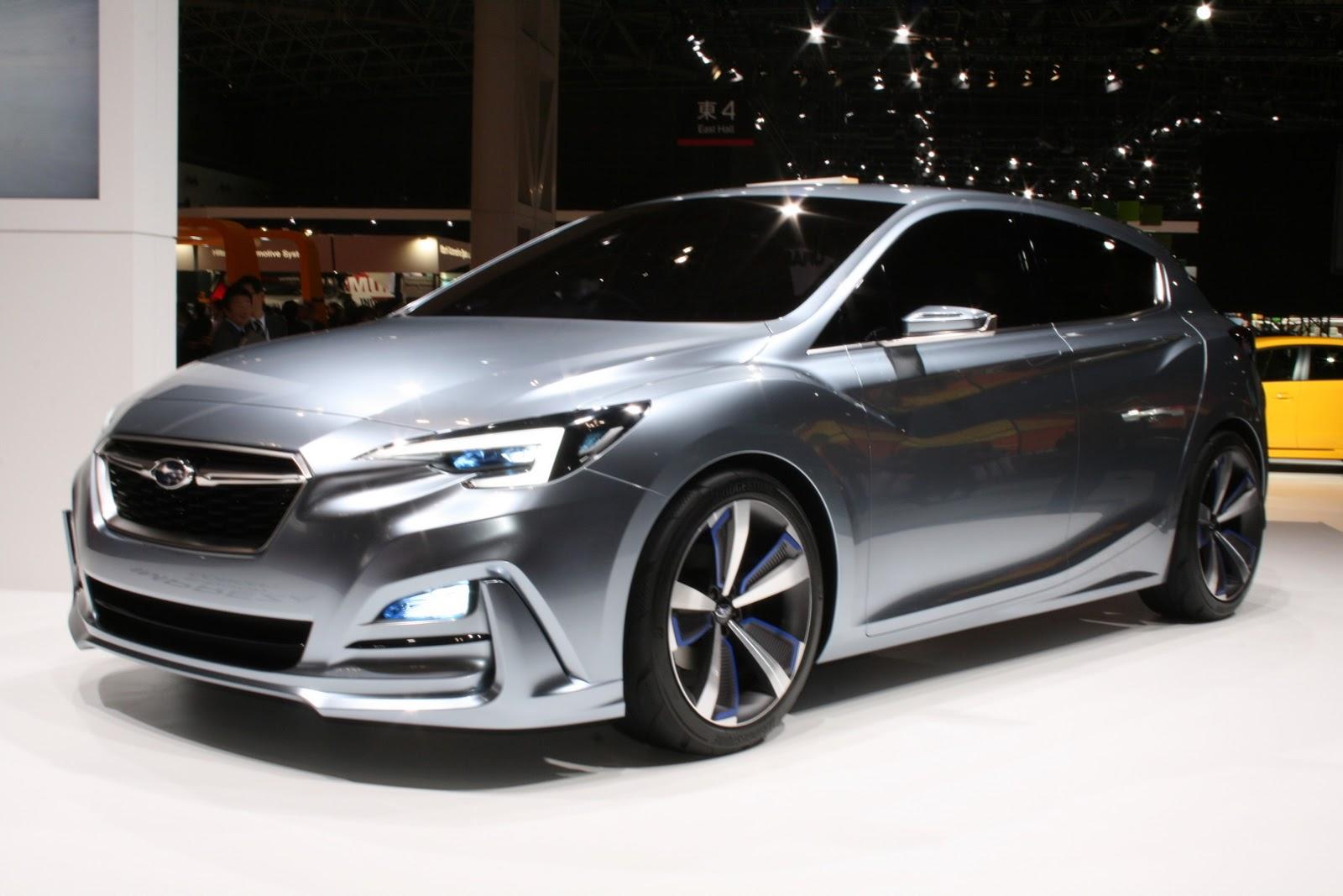 new subaru impreza sedan concept coming to la auto show carscoops. Black Bedroom Furniture Sets. Home Design Ideas