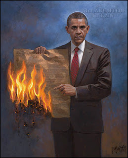 Jon McNaughton's One Nation Under Socialism