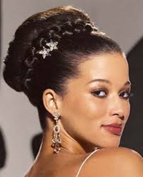 Wedding Hairstyles for African American Women with Long Hair 2013