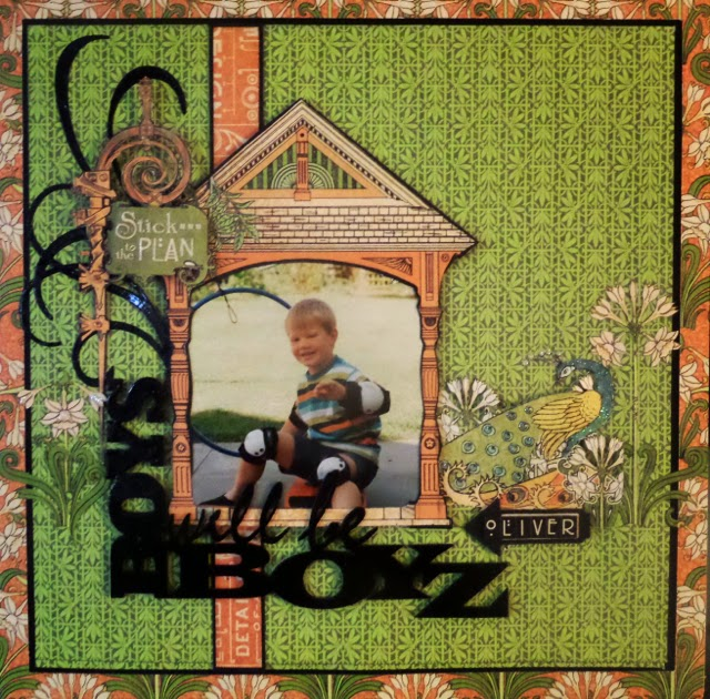 Artisan Style Layout Clare Charvill GRaphic 45