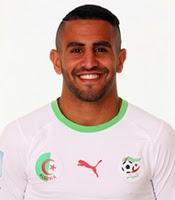 نشأة وحياة رياض محرز ، مسيرته الكروية مع الأندية ، مشواره مع المنتخب الوطني الجزائري