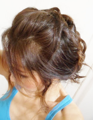 Quick and fast updos hairstyles