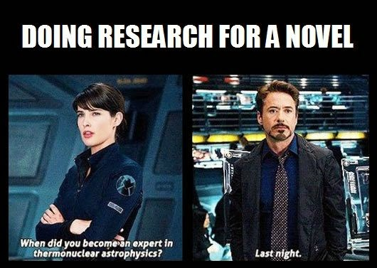 Writers research