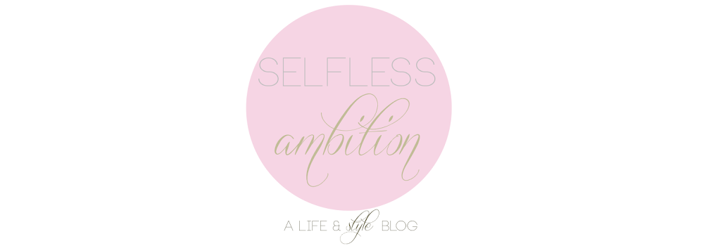 Selfless Ambition
