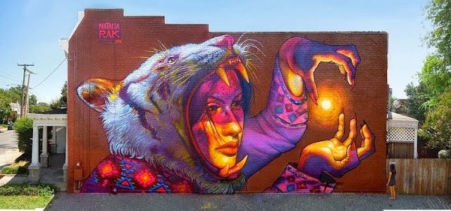 Arte callejero Urbano  Natalia Rak